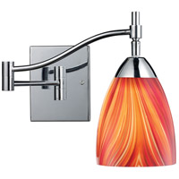 ELK Lighting Celina 1 Light Swingarm Sconce in Polished Chrome 10151/1PC-M