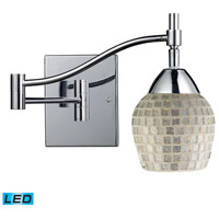 ELK Lighting Celina 1 Light Swingarm Sconce in Polished Chrome 10151/1PC-SLV-LED