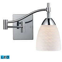 ELK Lighting Celina 1 Light Swingarm Sconce in Polished Chrome 10151/1PC-WS-LED