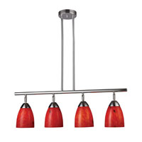 ELK Lighting Celina 4 Light Island Light in Polished Chrome 10153/4PC-FR