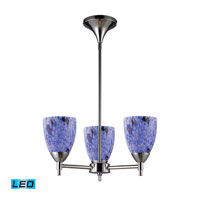 ELK Lighting Celina 3 Light Chandelier in Polished Chrome 10154/3PC-BL-LED