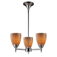 ELK Lighting Celina 3 Light Chandelier in Polished Chrome 10154/3PC-C