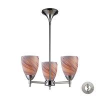 ELK Lighting Celina 3 Light Chandelier in Polished Chrome 10154/3PC-CR-LA