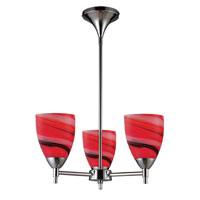ELK Lighting Celina 3 Light Chandelier in Polished Chrome 10154/3PC-CY photo thumbnail