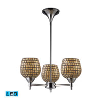 ELK Lighting Celina 3 Light Chandelier in Polished Chrome 10154/3PC-GLD-LED