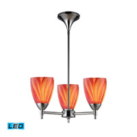 ELK Lighting Celina 3 Light Chandelier in Polished Chrome 10154/3PC-M-LED