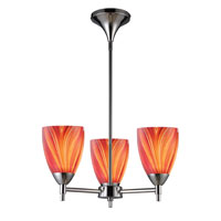 ELK Lighting Celina 3 Light Chandelier in Polished Chrome 10154/3PC-M