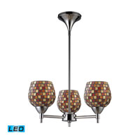 ELK Lighting Celina 3 Light Chandelier in Polished Chrome 10154/3PC-MLT-LED