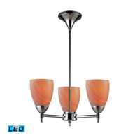 ELK Lighting Celina 3 Light Chandelier in Polished Chrome 10154/3PC-SY-LED