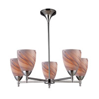 ELK Lighting Celina 5 Light Chandelier in Polished Chrome 10155/5PC-CR