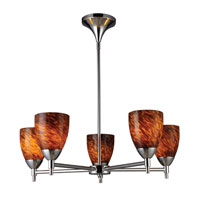 ELK Lighting Celina 5 Light Chandelier in Polished Chrome 10155/5PC-ES photo thumbnail