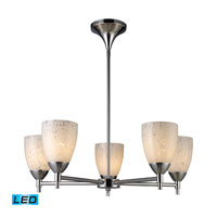 ELK Lighting Celina 5 Light Chandelier in Polished Chrome 10155/5PC-SW-LED