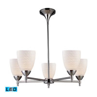 ELK Lighting Celina 5 Light Chandelier in Polished Chrome 10155/5PC-WS-LED