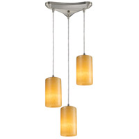 ELK Lighting Coletta 3 Light Pendant in Satin Nickel 10169/3