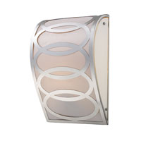 ELK Lighting Anastasia 1 Light Sconce in Polished Nickel 10170/1
