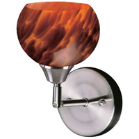 ELK 102-1ES Mela 1 Light 6 inch Satin Nickel Wall Sconce Wall Light