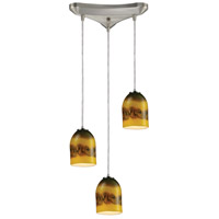 ELK Lighting Cosmos 3 Light Pendant in Satin Nickel 10217/3CMT