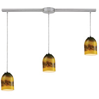 ELK Lighting Cosmos 3 Light Pendant in Satin Nickel 10217/3L-CMT