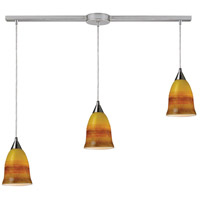 ELK Lighting Horizon 3 Light Pendant in Satin Nickel 10218/3L-ERH