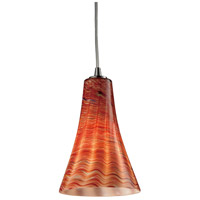ELK Lighting Cadence 1 Light Pendant in Satin Nickel 10221/1DSK