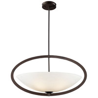 Dione 5 Light 27 inch Aged Bronze Pendant Ceiling Light