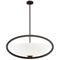 Dione 6 Light 37 inch Aged Bronze Pendant Ceiling Light