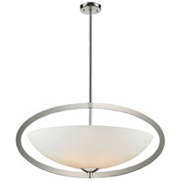 ELK 10238/6 Dione 6 Light 37 inch Polished Nickel Pendant Ceiling Light