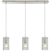Pendant Options 3 Light 36 inch Satin Nickel Pendant Ceiling Light