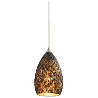 Geval 1 Light 5 inch Burnished Copper Pendant Ceiling Light in Standard