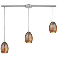 Venture 3 Light 36 inch Satin Nickel Pendant Ceiling Light