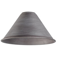 Elk Lighting Cast Iron Pipe Shade in Weathered Zinc 1027