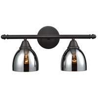 ELK 10271/2 Reflections 2 Light 18 inch Oil Rubbed Bronze Vanity Light Wall Light