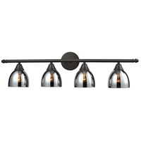 Reflections 4 Light 33 inch Oil Rubbed Bronze Vanity Wall Light