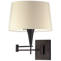 ELK Lighting Swingarms 1 Light Swing Arm Wall Lamp in Aged Bronze 10292/1