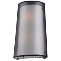 ELK Lighting Crystals 2 Light Wall Sconce in Black Chrome 10310/2