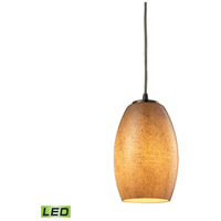ELK Lighting Andover LED Pendant in Satin Nickel 10330/1TB-LED
