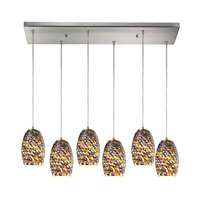 ELK Lighting Eudora 6 Light Chandelier in Satin Nickel 10336/6RC