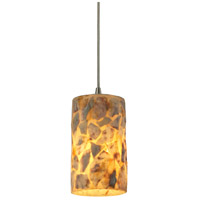 ELK 10339/1 Rocklidge 1 Light 4 inch Satin Nickel Pendant Ceiling Light