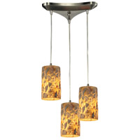 ELK Lighting Rocklidge 3 Light Chandelier in Satin Nickel 10339/3