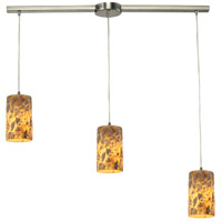 ELK Lighting Rocklidge 3 Light Chandelier in Satin Nickel 10339/3L