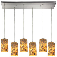 ELK Lighting Rocklidge 6 Light Chandelier in Satin Nickel 10339/6RC