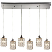 ELK Lighting Kersey 6 Light Chandelier in Satin Nickel 10343/6RC