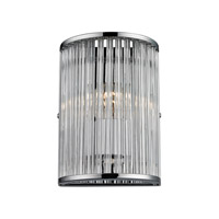 ELK Lighting Braxton 1 Light Sconce in Polished Chrome 10360/1