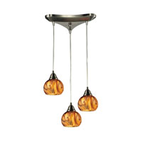 ELK Lighting Ella 3 Light Chandelier in Satin Nickel 10395/3