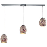 Orbital 3 Light 36 inch Polished Chrome Pendant Ceiling Light