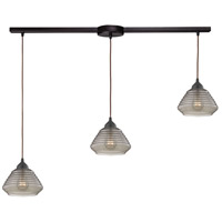 ELK 10434/3L Orbital 3 Light 36 inch Oil Rubbed Bronze Pendant Ceiling Light
