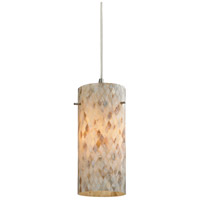 ELK Lighting Capri 1 Light Pendant in Satin Nickel 10442/1