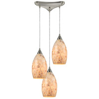 ELK 10443/3-LED Capri LED 13 inch Satin Nickel Pendant Ceiling Light