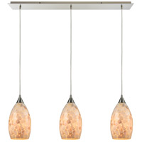 ELK 10443/3LP-LED Capri LED 36 inch Satin Nickel Pendant Ceiling Light