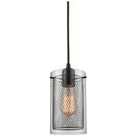 ELK 10448/1 Brant 1 Light 5 inch Oil Rubbed Bronze Mini Pendant Ceiling Light in Standard